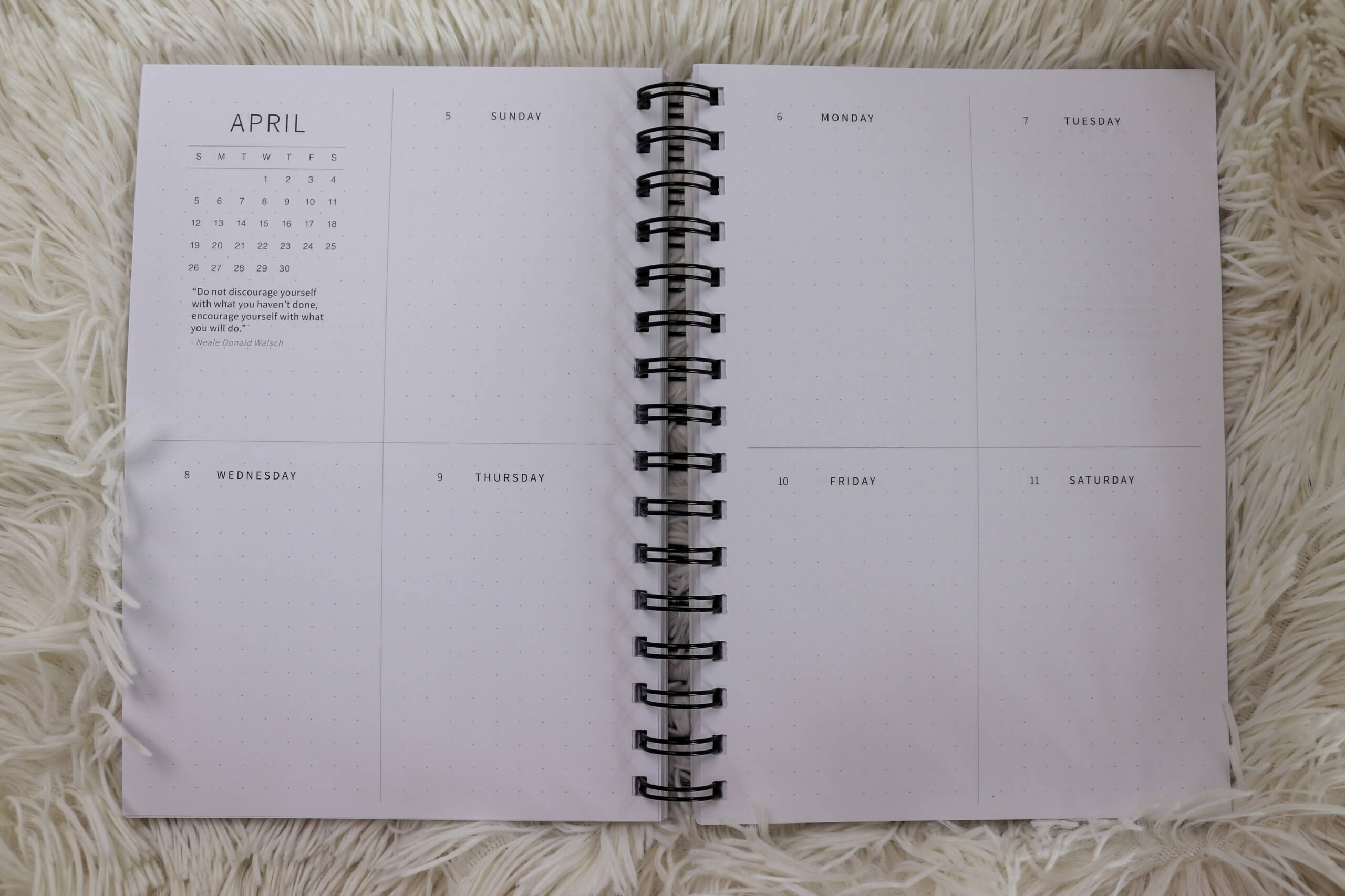 Limitless Planner 2020 Weekly Spread | Your sidekick to life! The only planner, agenda and notebook you'll need to be fulfilled and productive!