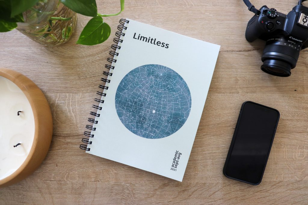 Limitless Planner 2021 Academic - Cover | Your sidekick to life! The only planner, agenda and notebook you'll need to be fulfilled and productive!