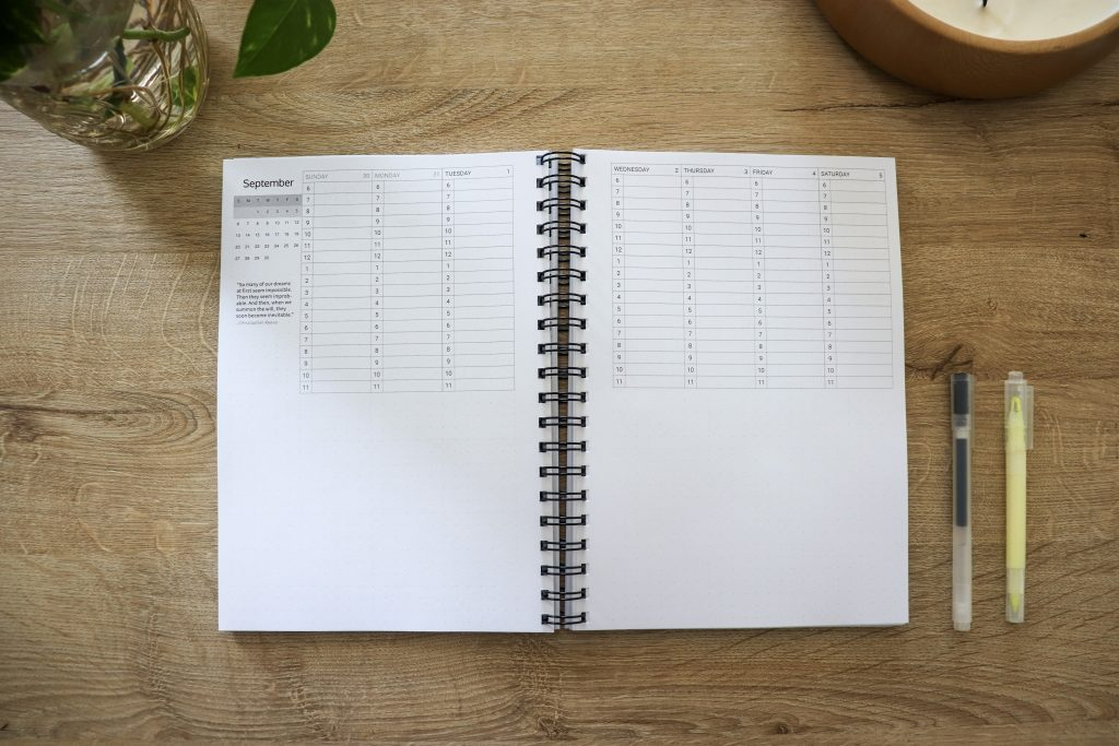 Limitless Planner 2021 Academic - Weekly Spread | Your sidekick to life! The only planner, agenda and notebook you'll need to be fulfilled and productive!